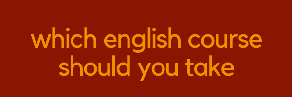 Which English Course Should You Take | LTC